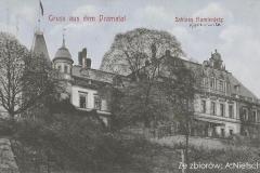 Pałac-Strachwitzów.-Skrzydło-południowe.-Stan-przed-renowacją-z-1910-roku.